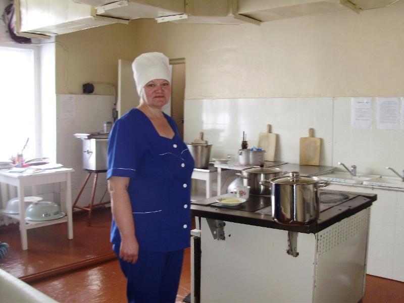 Знакомство с поваром в лагере